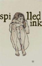 spilled ink by saergcnts