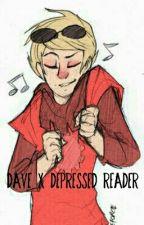 Dave Strider x Depressed Reader by fukoTamashi