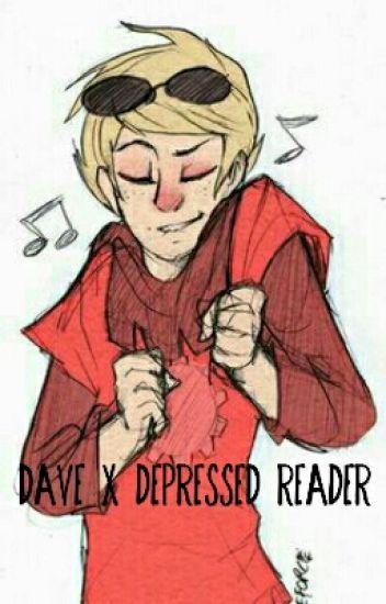 Dave Strider x Depressed Reader