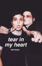 Tear In My Heart ; Frerard by http-hayley