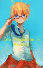 [Len Kagamine x Reader] by xShadowKitty