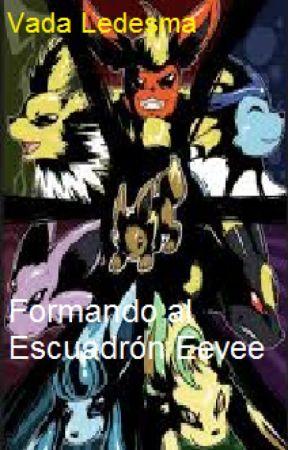 Formando al escuadrón Eevee by wolfy_the_fox_