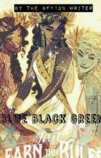 Blue Black Green by Benigness