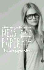 Newspaper Girl by cakepopmendes
