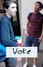 Vote - Dan and Phil by Phandomforlife