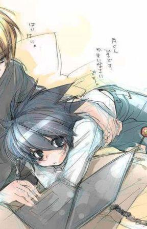 !Estúpido profesor! (Elle/LxLight)(Yaoi)(Death Note) by katherine_neko