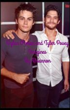 Dylan O'brien and Tyler Posey Imagines by Rhiannonleee