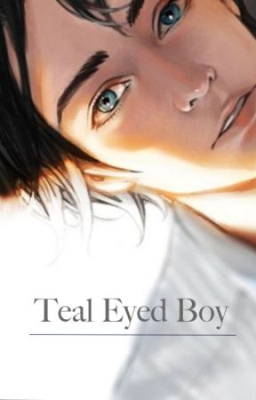 Teal Eyed Boy by Mishkalli