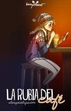 La Rubia del Café #1 by eMitchi