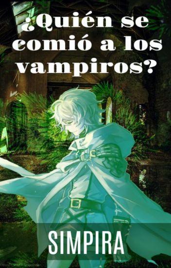 ¿Quién se comió a los vampiros?