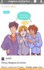 Las Crónicas de Percy Jackson y los Héroes del Olimpo by SimplyJack
