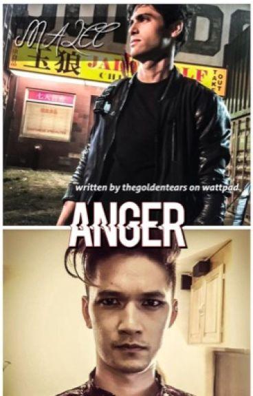 anger || malec // au