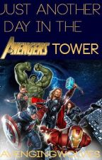 Just another day at the Avengers Tower by marvelousbones