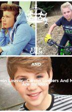 Los Chicos Nuevos ¨{Carson Lueders,MattyB y Benjamin Lasnier}  by ServinJaz