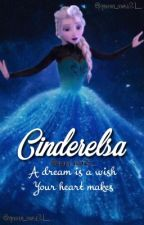 Cinderelsa (jelsa) by queen_elsa21__