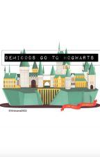 Demigods go to Hogwarts by antoanaxo