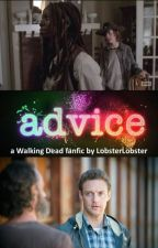 Advice (The Walking Dead Rick and Michonne) by LobsterLobster