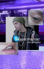 skype maniac || carl gallagher by purplesleep