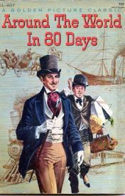 Around The World in 80 Days (by Jules Verne) by Dunya1998hani