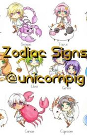 Zodiac Signs by unicornpig