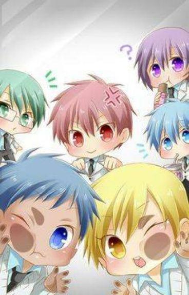 Grup chat & scenario gaje Kuroko no Basuke