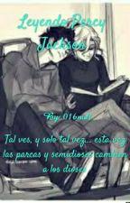 leyendo Percy Jackson by 016noli