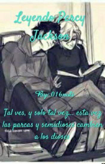Leyendo Percy Jackson