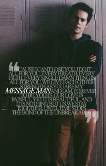 message man * stilinski