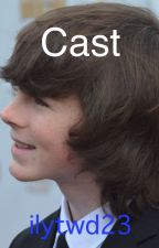 Cast  // Chandler Riggs FF by ilytwd23