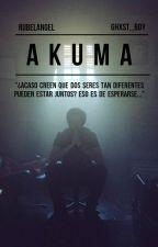 Akuma; rubelangel. [ E D I T A N D O ] by ghxst-boy
