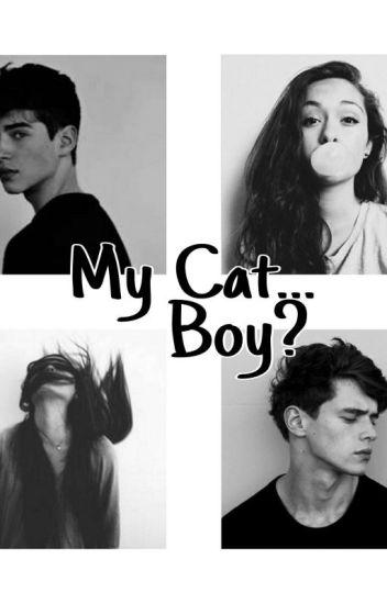 Мой Кот...парень?