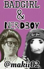 Badgirl and nerd boy by makii02