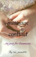marriage contract by tori_anime101