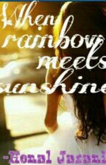 When rainbow meets sunshine. (1D fan-fic) by HenalJasani