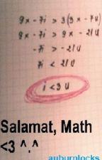 Salamat, Math [One Shot] by auburnlocks