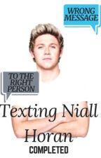 Texting Niall Horan n.h (COMPLETED) by _diaana