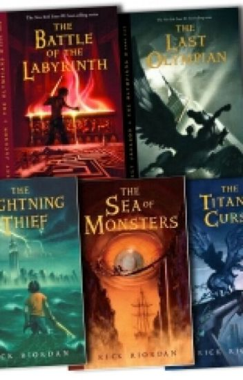 goode high school reads percy jackson and the olympians series