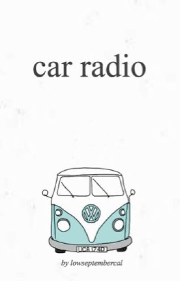 car radio {hood}