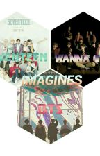 BTS and Seventeen Imagines by IreneFW