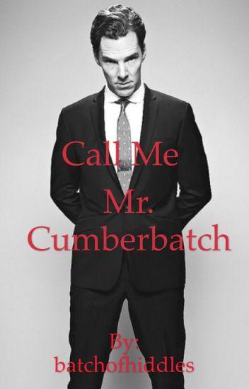 Call Me Mr. Cumberbatch