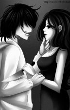 Amor asesino, Jeff the killer y Jane the killer. by DUQUESUICIDA