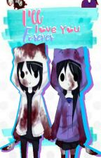 Jeff the Killer & Nina the Killer. ❤ by Ale_Meaw