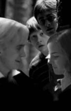 Dramione - there's a thin line between love and hate by AonymouslyInvisible
