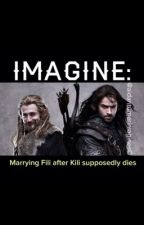 IMAGINE: Marrying Fili after Kili supposedly dies by Aidanturnerimagines