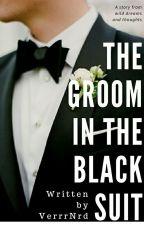 The Groom in The Black Suit by VerrrNrd