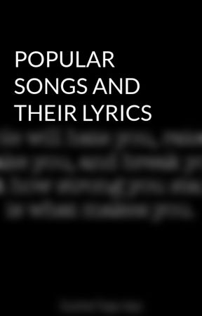 Popular Songs And Their Lyrics Love Me Like You Do By
