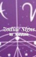 Zodiac Signs by _kadylynn_