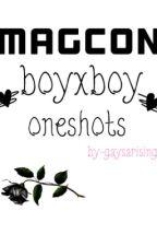 Magcon boy×boy text one shots by Niallluvs_potatoes