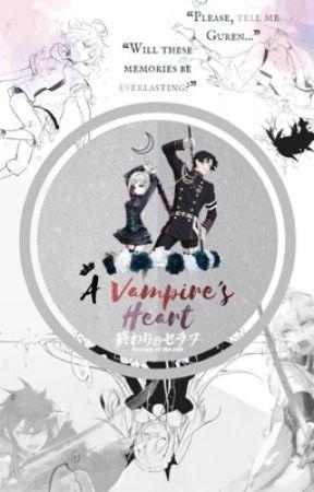 ♢ A Vampire's Heart ☽ ♢ || Owari no Seraph fanfiction || by mochi-panda