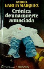 CRONICA DE UNA MUERTE ANUNCIADA: RESUMEN by mastercode55